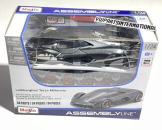 Lamborghini Terzo Millenio Assembly Line 1:24 Scale Model Car Toy Kids Childs Dads Gift