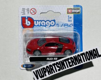 Audi R8 Street Fire 1:64 Scale Model Car Toy Childs Kids Dads Gift