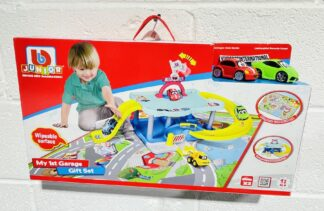 Junior My 1st Garage Set Volkswagen Lamborghini City Playmat with Beetle Huracan Toy Cars 12m+ Babies Toddlers Childs Present Gift