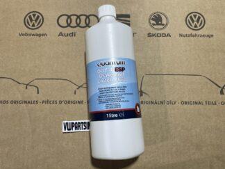 Quantum DOT 4 Brake Clutch Fluid ESP 1L for VW Golf Polo Scirocco Jetta Lupo Tiguan Amarok ID Passat Beetle Transporter Audi Seat Skoda