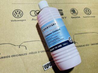Quantum Anti Freeze & Summer Coolant 1L Top Up for VW Golf Polo Scirocco Jetta Lupo Tiguan Amarok ID Passat Beetle Transporter Audi Seat Skoda