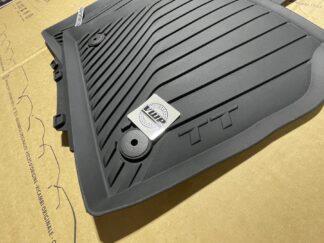 Audi TT MK3 Floor Foot Mats All Weather Rubber Carpet Protection Feet Pads Original OEM Audi