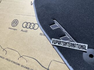 Audi TT MK3 Carpet Floor Mats Carpet Protection Feet Pads Original OEM Audi Parts RHD