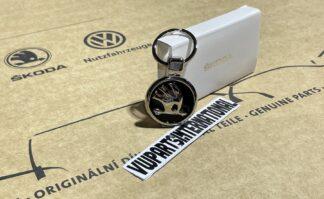 Genuine Skoda Enamel Keyring Key Fob Octavia Yeti Fabia Rapid Roomster vRS Felicia Citigo Original OEM Accessory Gift
