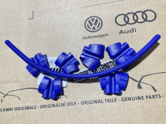 VW Golf MK4 R32 Audi TT 3.2 Engine Ignition Coil Pack Covers Blue Cable Conduit Genuine New OEM VW Parts
