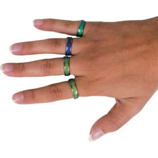 Mood Ring Colour Changing Emotions Dress Ring Mums Dads Kids Childs Gift