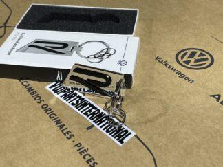 Volkswagen R Keyring Key Fob VW Golf MK8 R Tiguan Arteon T-Cross Accessory Gift