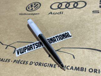 Volkswagen Writing Pen Chrome / White VW Golf Polo Scirocco Jetta Lupo Tiguan Amarok ID Passat Beetle Transporter OEM Accessory Gift